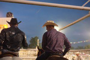 A cowboy conference